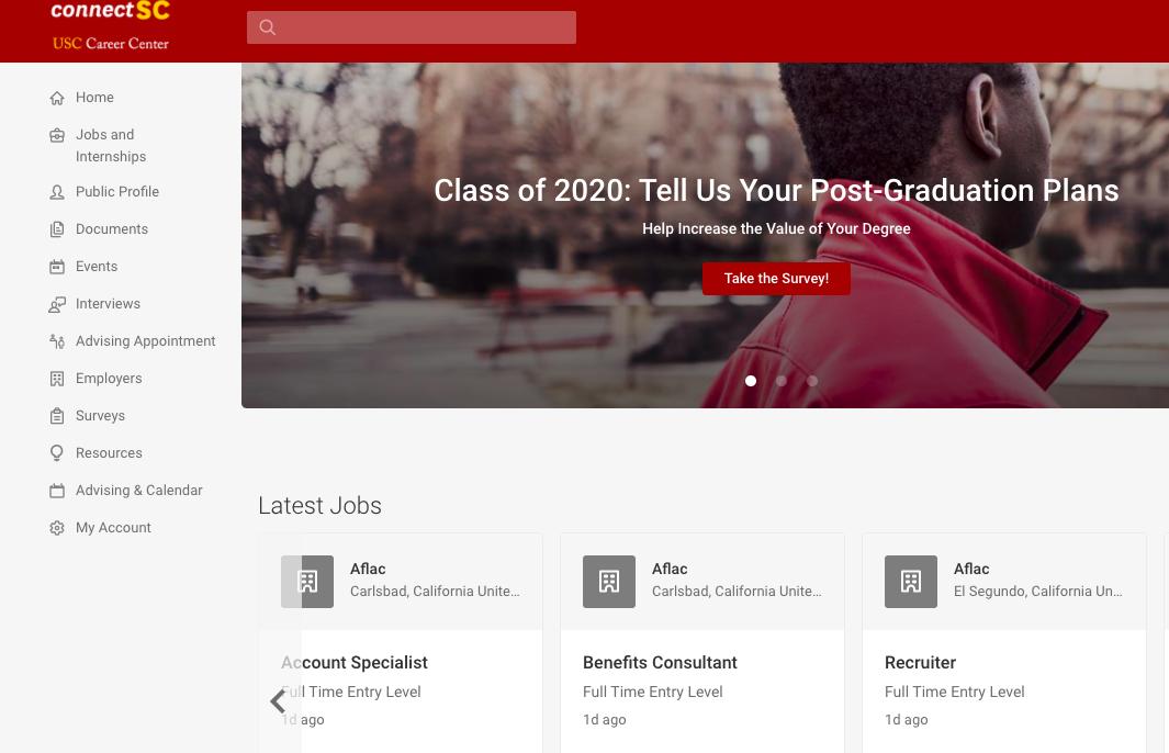career service website