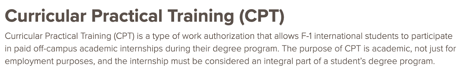 cpt definition