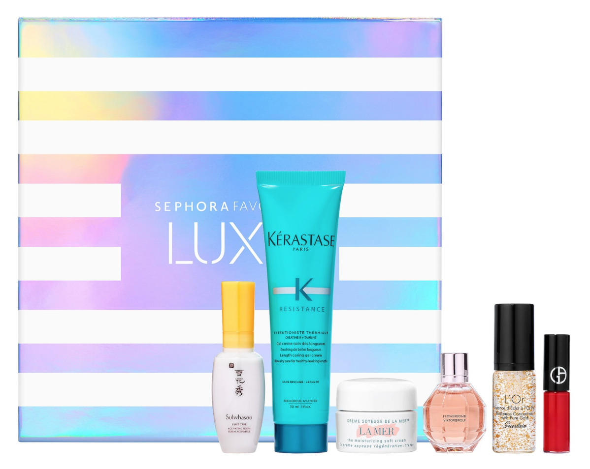 SEPHORA FAVOURITE LUXE BEAUTY BOX