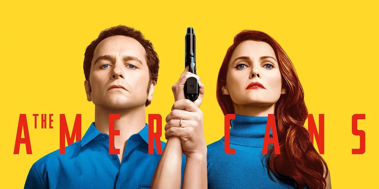 The Americans: Season 5 - Jarvis Slacks - Medium