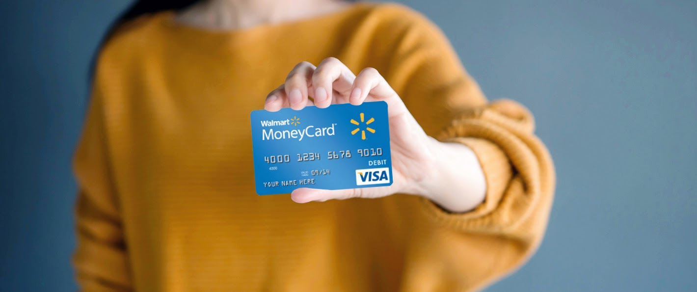 Walmart MoneyCard Visa With Cashback Rewards
