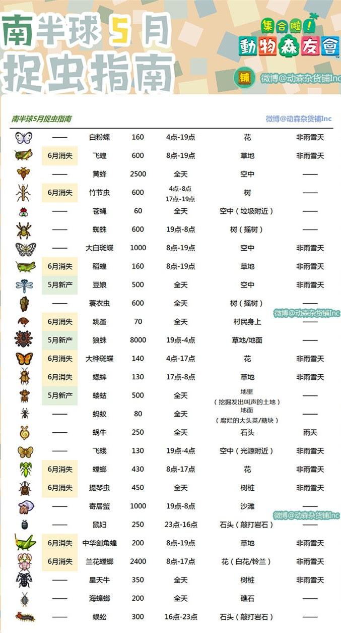 南半球昆虫类