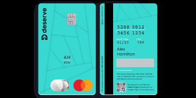 Deserve Edu Mastercard Credit Card