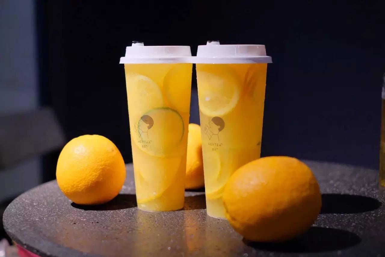 香橙柠檬茶