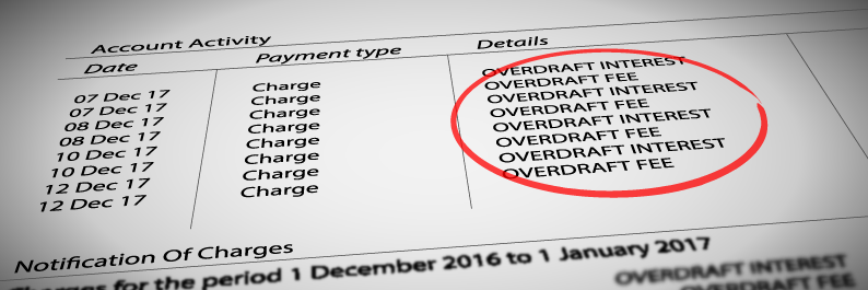 Overdraft Fee / Overdue Fee