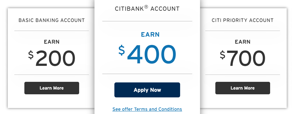 Citi Basic Banking Package