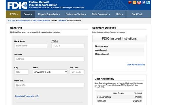 FDIC保险