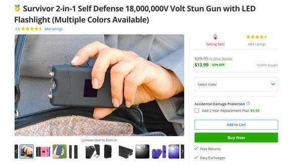 防身电击枪