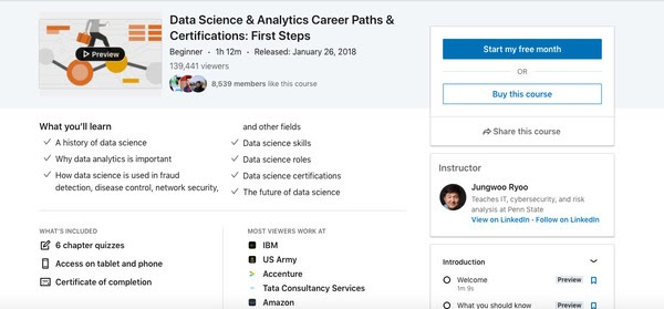 Data Science & Analytics Career Paths & Certifications:First Steps