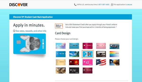discover credit card