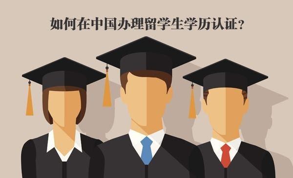 如何在中国办理留学生学历认证