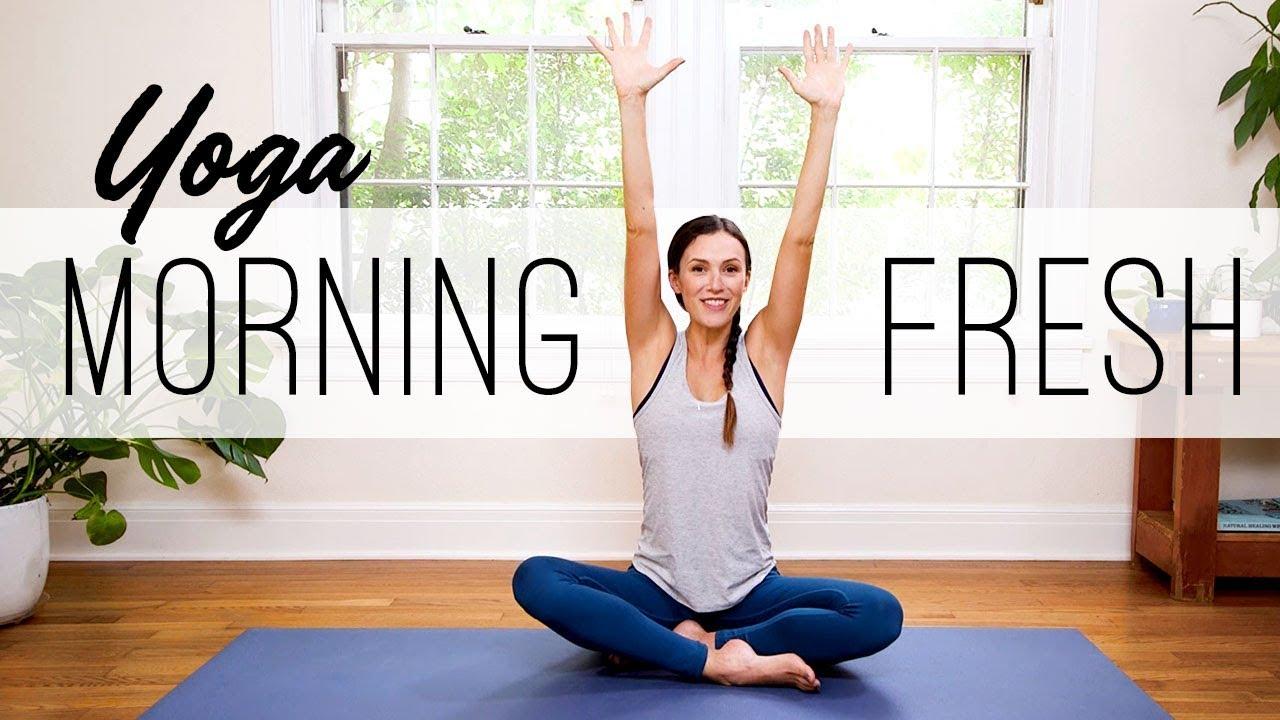 Yoga Morning Fresh | Yoga With Adriene - YouTube