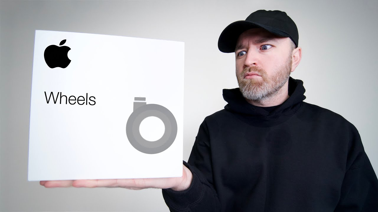 Unboxing Apple's 700 Dollar Wheels - YouTube