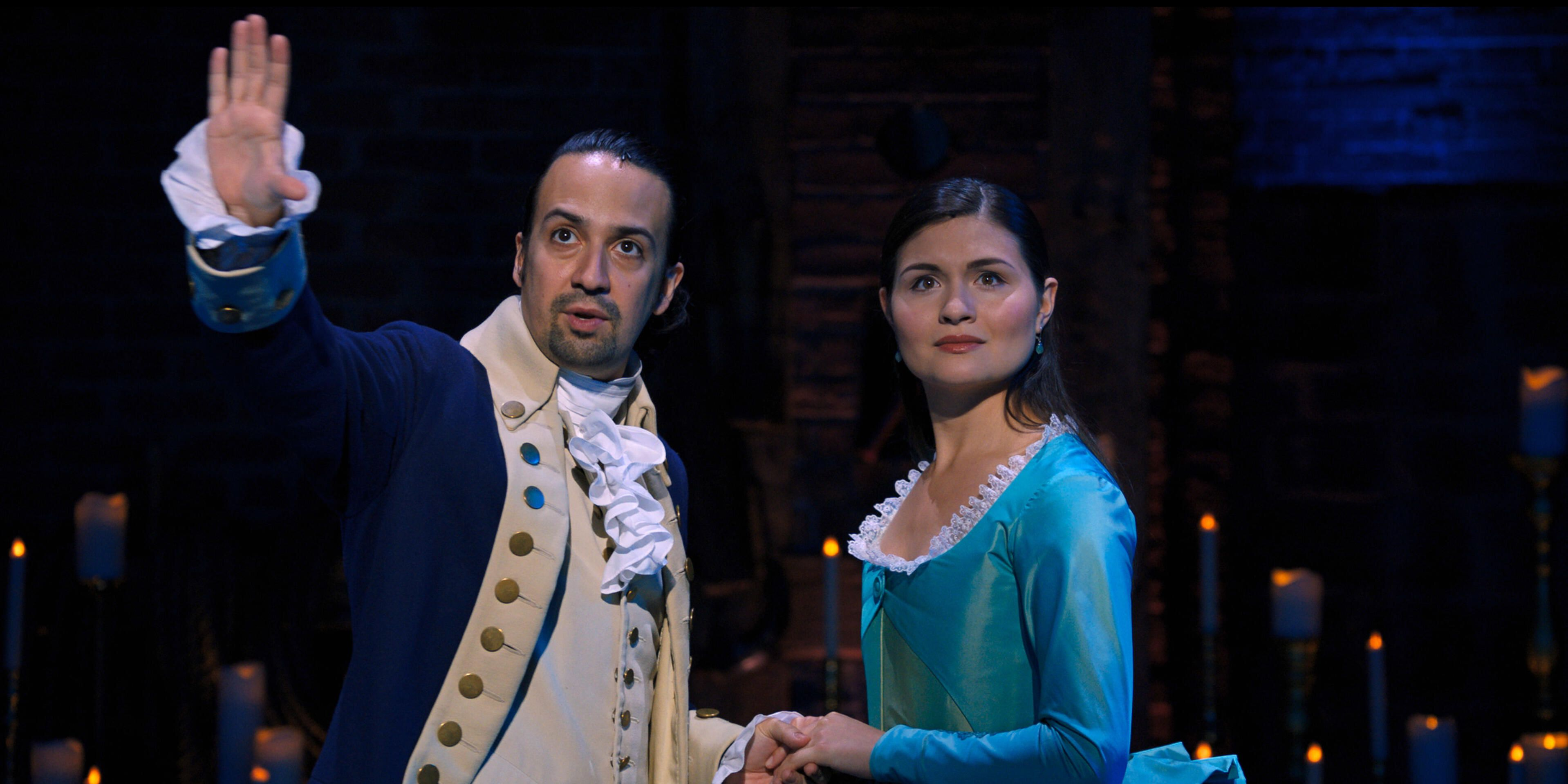 Hamilton on Disney Plus: Cheese