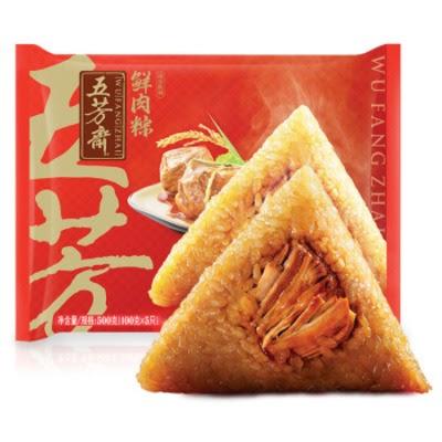 五芳斋/稻香村大肉粽
