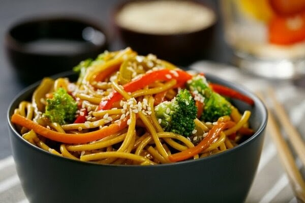 Costco蔬菜炒面 Vegetable Yakisoba