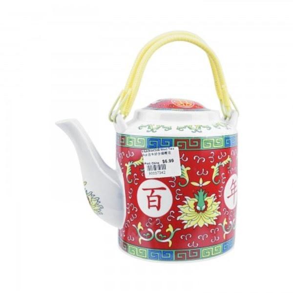 婚宴陶瓷茶壶 桥梁壶(百年好合)