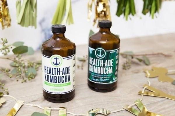 Health ade kombucha红茶菌饮品