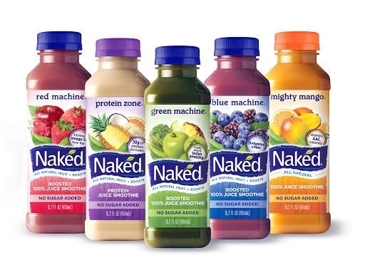 Naked Juice果汁