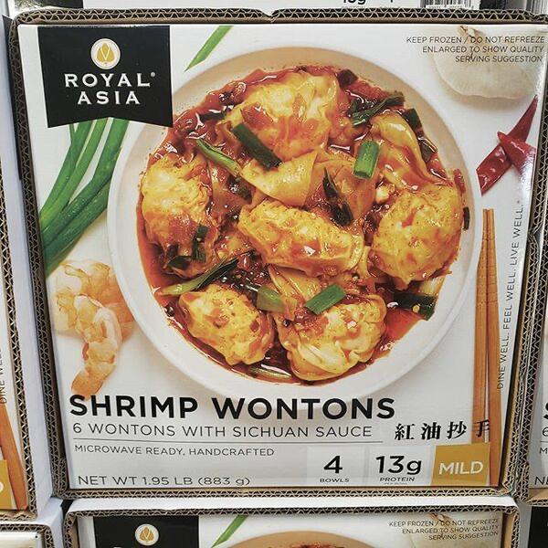 Royal Asia Shrimp Wontons 虾仁红油抄手