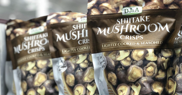 Shiitake Mushroom Crisps 香菇干