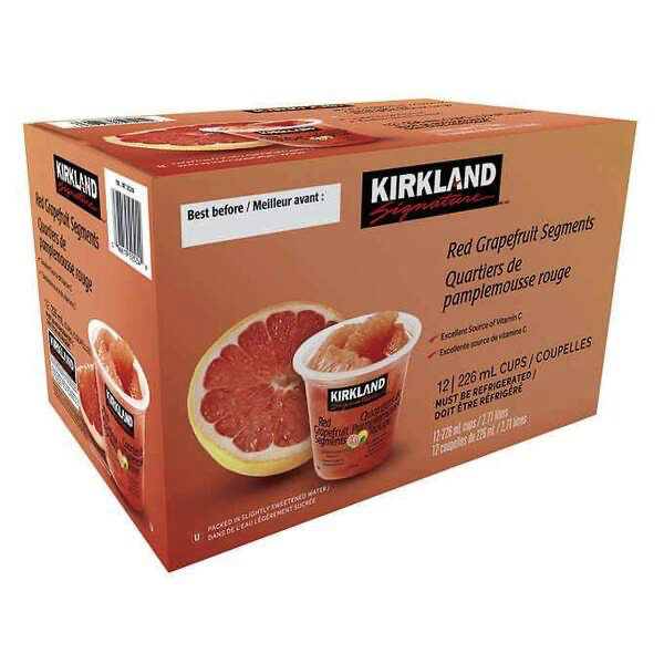 Kirkland Red Grapefruit Cup 西柚杯