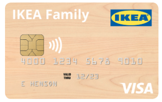 IKEA Credit Card | Cheese Debit Card