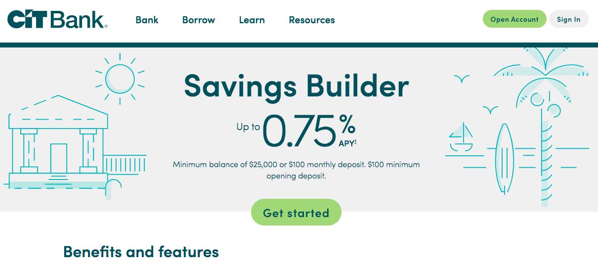 CIT Bank Savings Builder | Cheese Debit Card