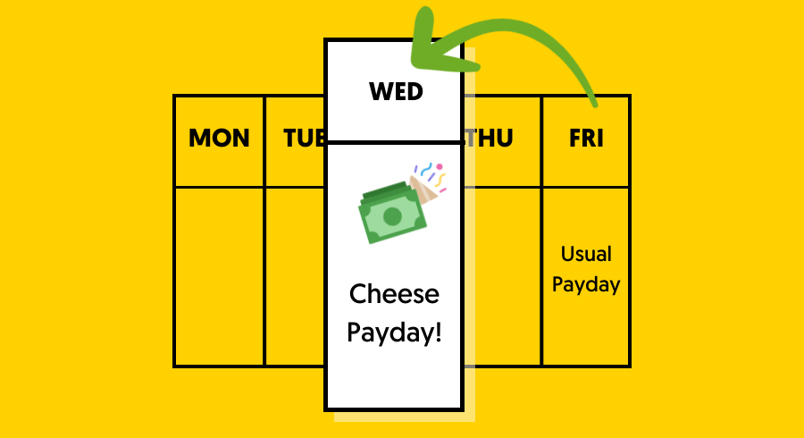 How to Set Up Direct Deposit in Just 1 Step with Cheese?   Cheese Debit Card
