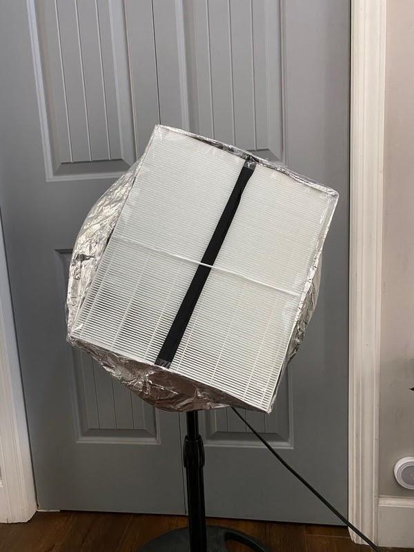 DIY空气净化器