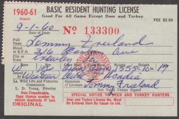 狩猎执照(Hunting License)