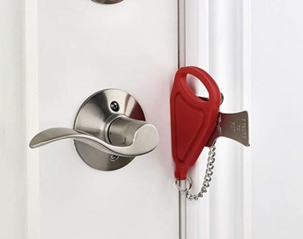 Addalock便携式防盗门锁