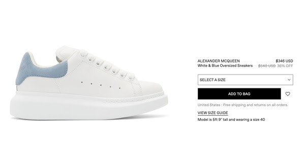 麦昆小白鞋