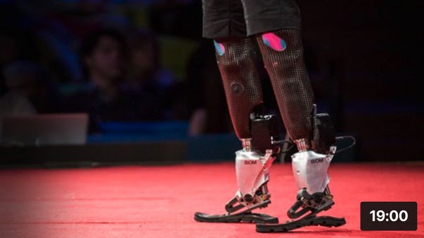 The new bionics that let us run, climb and dance(2014)