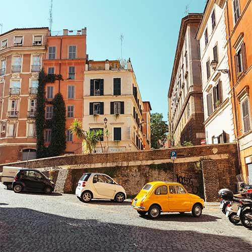 Straten van Rome