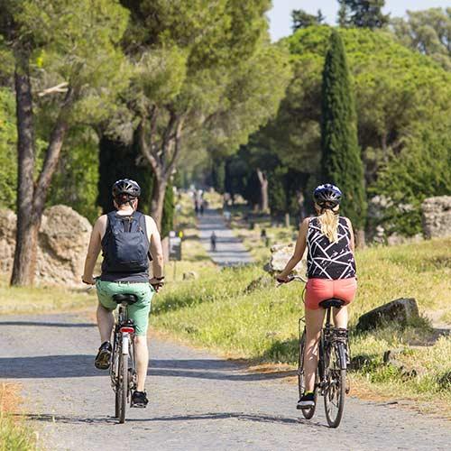 Fieten in Via Appia