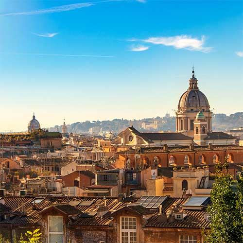 Uitzicht Skyline Rome