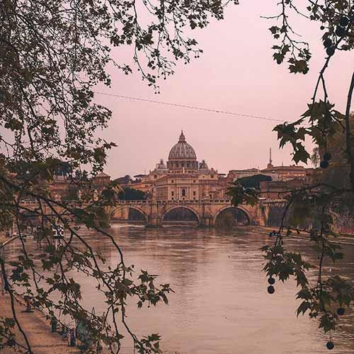 Uitzicht Sint-Pieter Rome