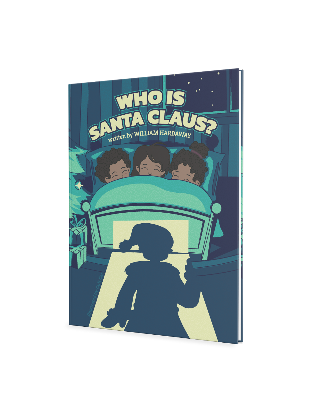 Picture of the Who Is Santa Claus book.