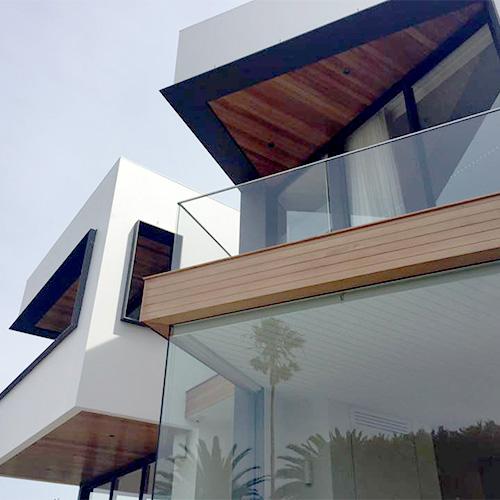 House facade build