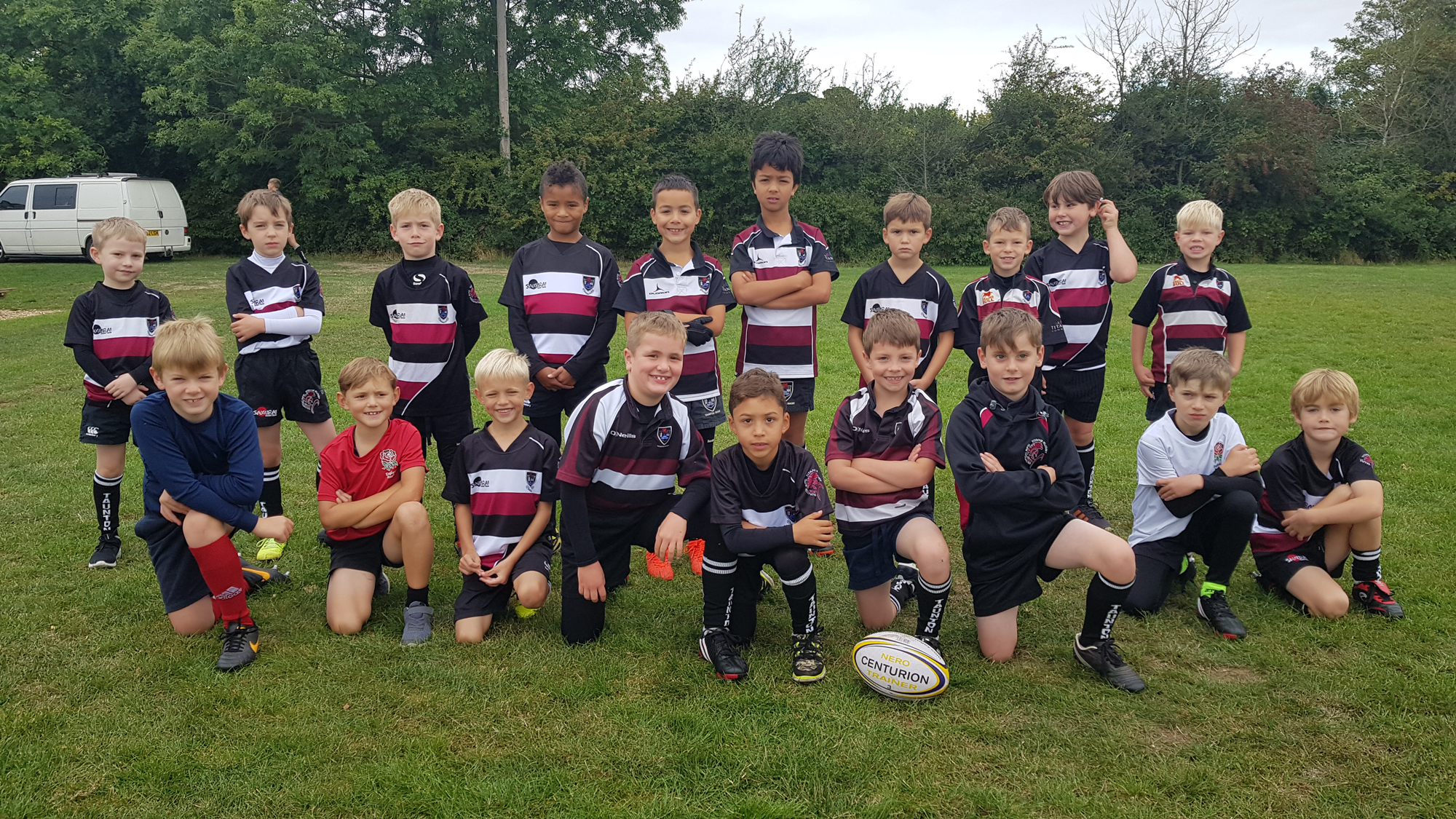 Taunton Eagles - Under 8 rugby squad