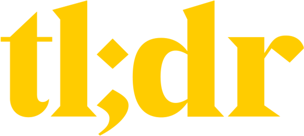TLDR Newsletter Logo Yellow