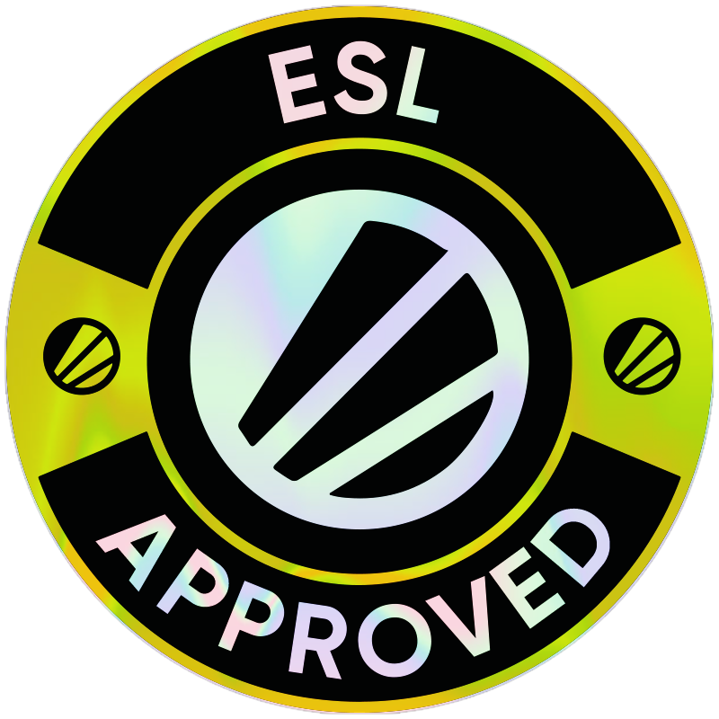 ESL Approved Badge