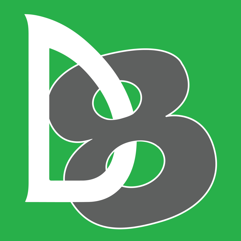 D8 logo Green