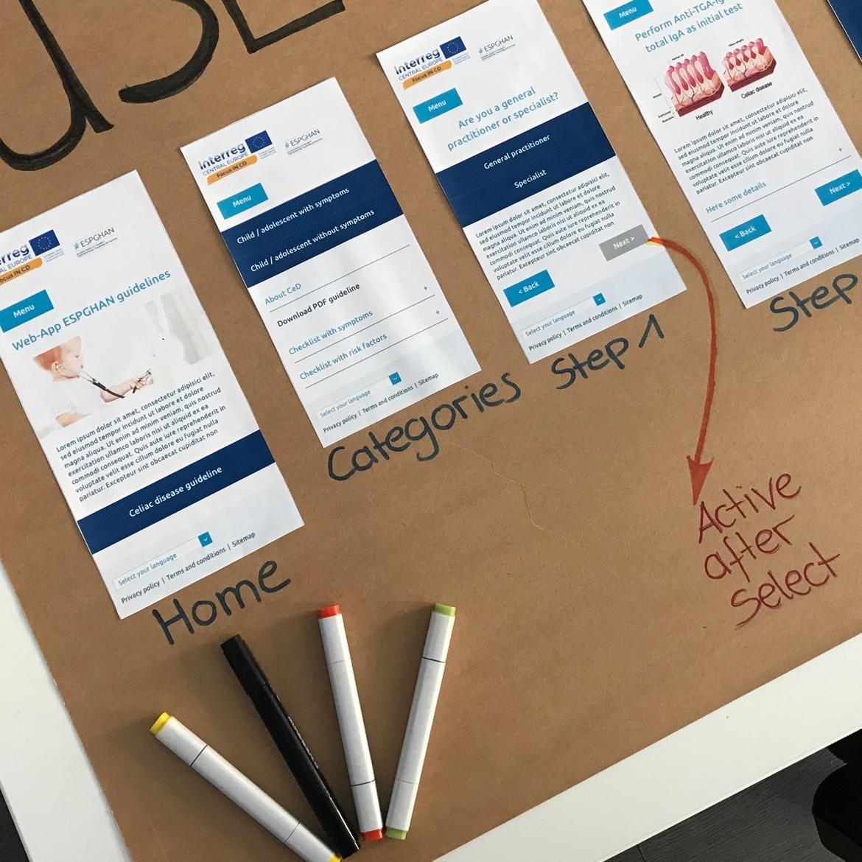 UX Design Plakat
