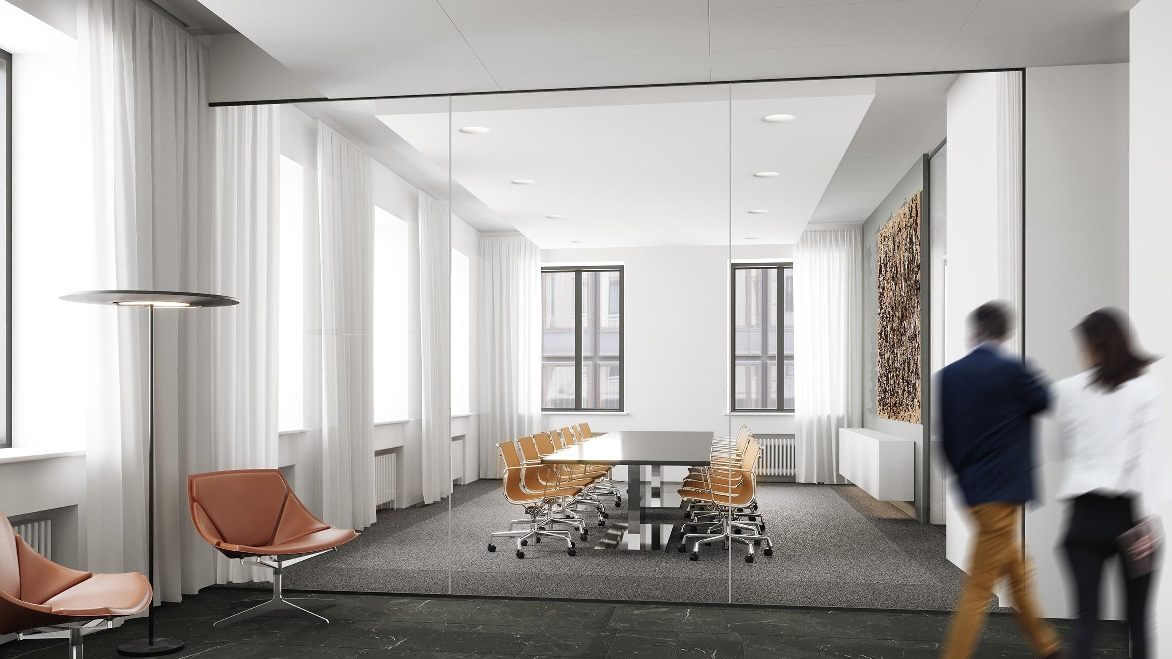 Toisen kerroksen toimistotilat