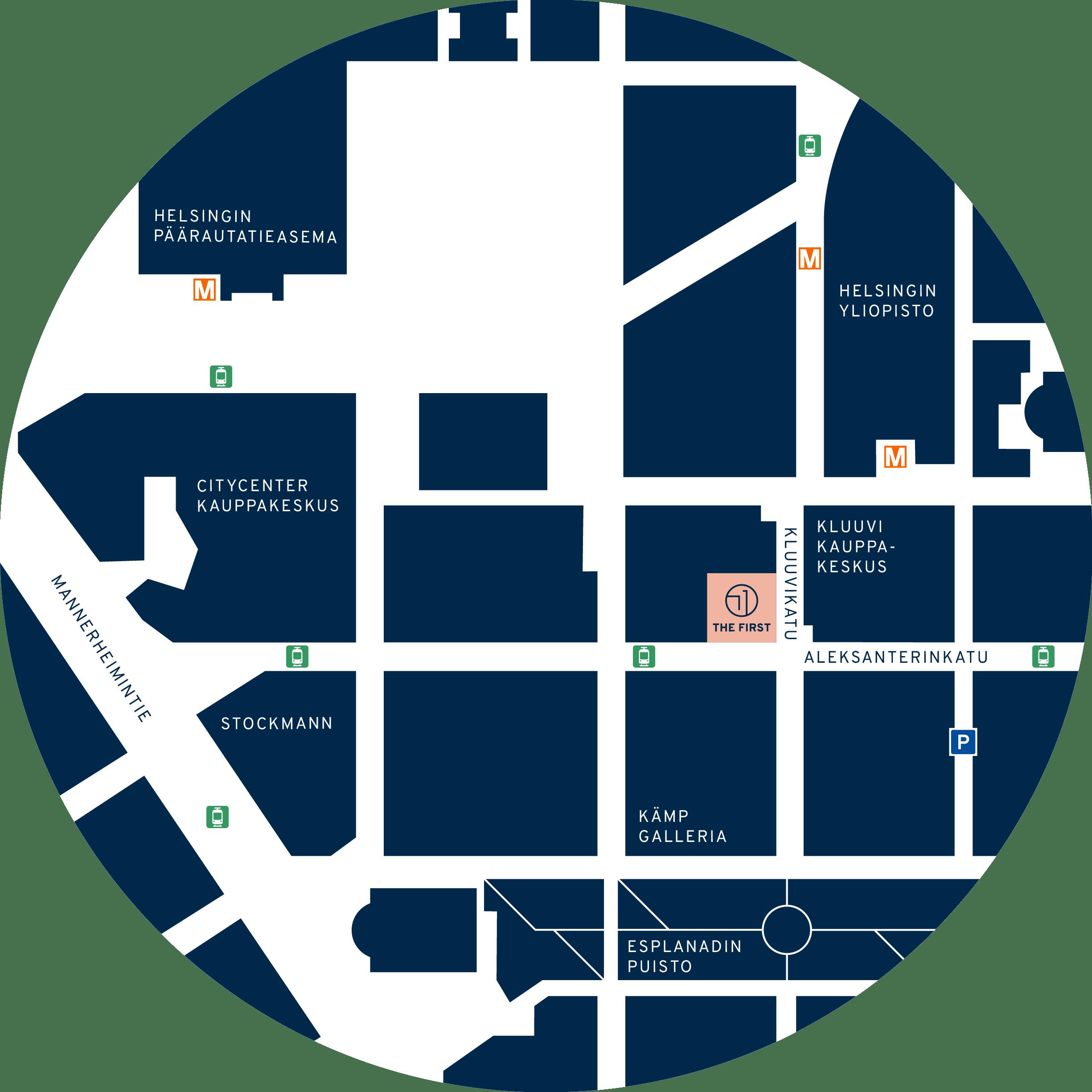 Karttakuva alueesta