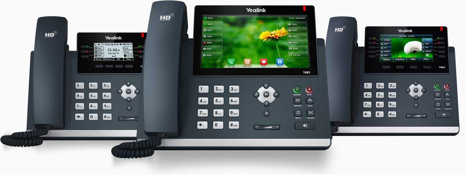 Yealink voip phones