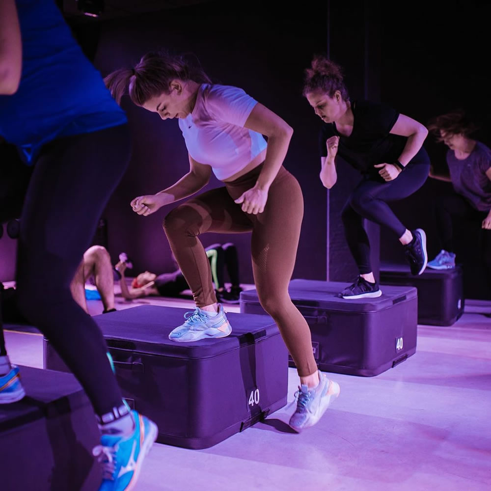 Full-body hiit workout bij Ctrl Gym in Brugge