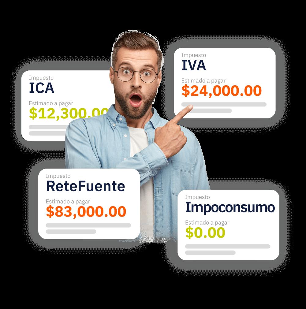declaración de impuestos Colombia Mexico